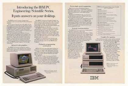 IBM PC/ES Series Computer Little Tramp 3-Page (1985)
