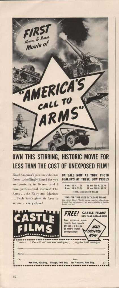 Americas Call To Arms Castle Films (1941)