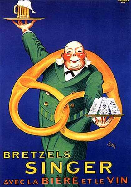 Bretzels Singer by Lotti (1930)