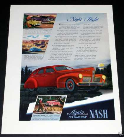 Nash Autos, Night Flight (1939)