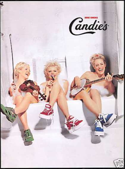 Candies Shoes Country Music Dixie Chicks Tub (1999)