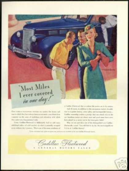 Cadillac Fleetwood McClelland Barclay Art (1938)