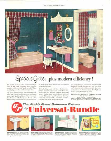 Universal Rundle 50&#8217;s Bath Kitchen (1953)