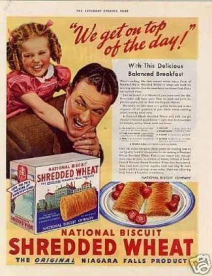 National Biscuit Shredded Wheat Cereal (1939)