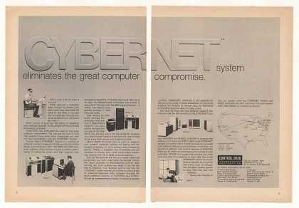 Control Data Cybernet Computer System (1970)