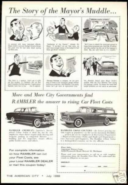 Rambler American Cross Country Gov't Fleet Car (1959)