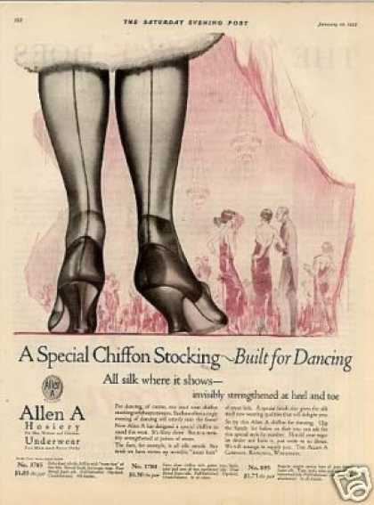 Allen a Hosiery Color (1925)