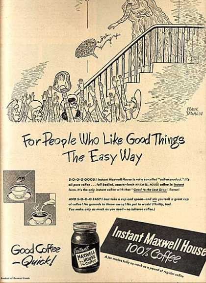 Maxwell House's Instant Coffee (1948)
