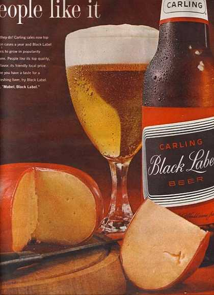 Carling's Black Label Beer (1962)