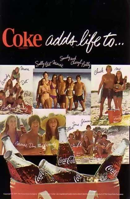 Coke Coke Adds Life Too (1977)