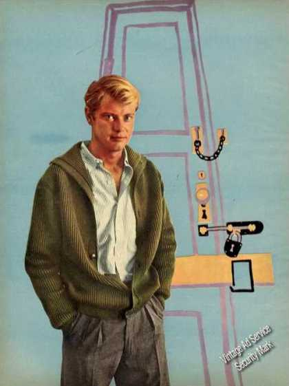 Troy Donahue Magazine Print Photo (1960)
