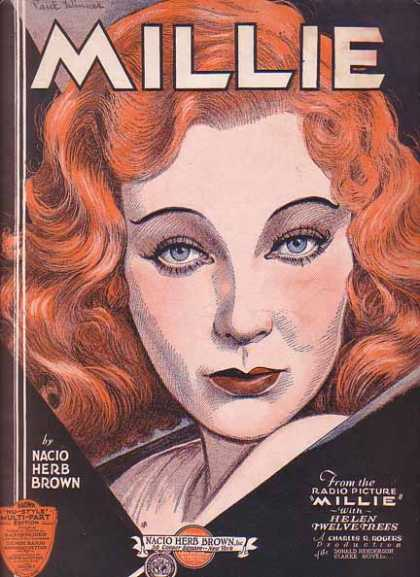 Millie – Helen Twelvetrees Sheet Music (1931)