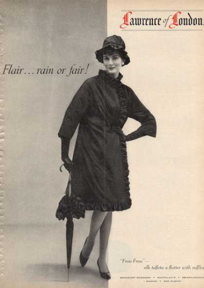 Lawrence of London Fashion Silk Taffeta (1962)