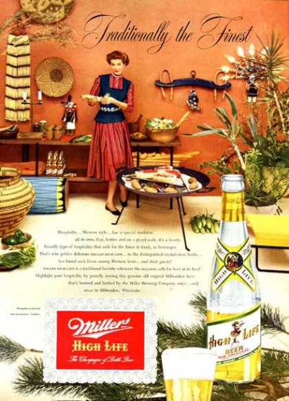 Miller Beer Hospitality Western Style (1952)
