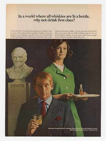 Old Grand-Dad Whisky Drink 1st Class Stewardess (1969)