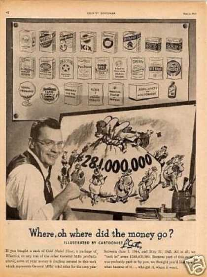 General Mills Ad 2 Page (1945)