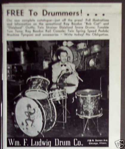 Original Ludwig Drums (1938)