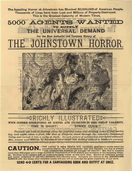 Garretson & Co.'s The Johnstown Horror or Valley of Death Book – The Johnstown Horror or Valley of Death