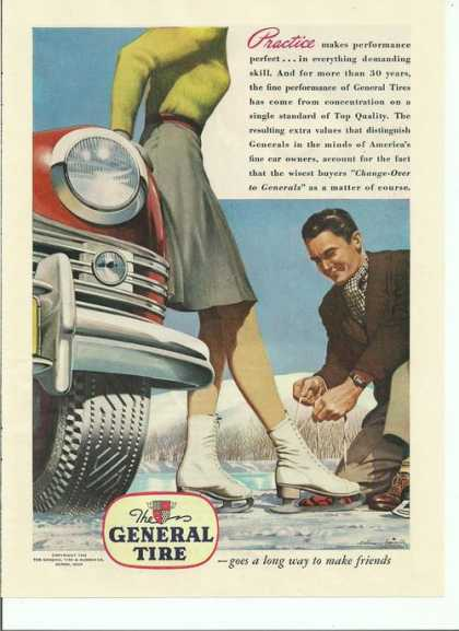 General Tire Ice Skater (1946)