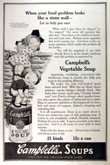 Campbell's Soup #2 (1919)