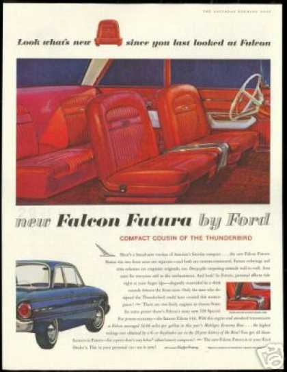 Ford Falcon 2 Dr Futura Interior Exterior Photo (1961)