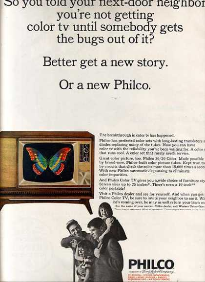 Philco's Color TV's (1965)