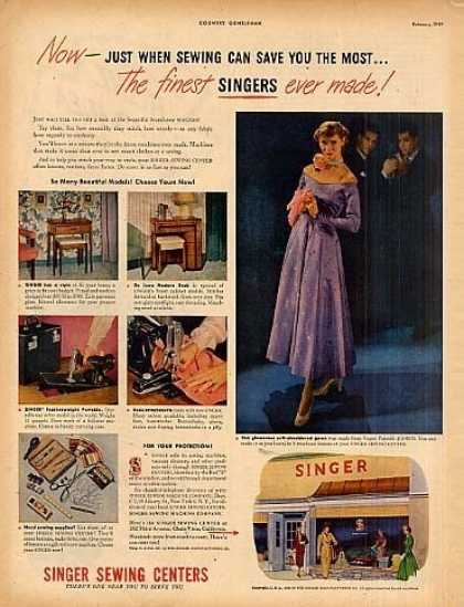 Singer Sewing Machine (1949)