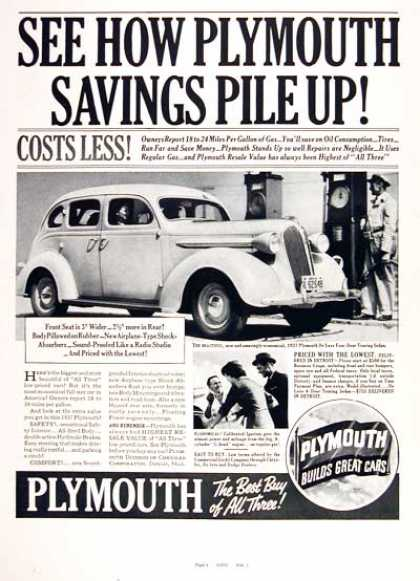 Plymouth Touring Sedan (1937)