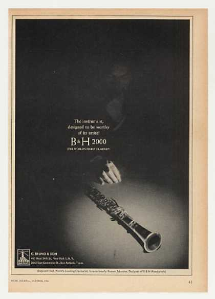 Reginald Kell Bruno B & H 2000 Clarinet (1964)