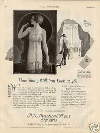 P.n. Practical Front Corsets (1923)