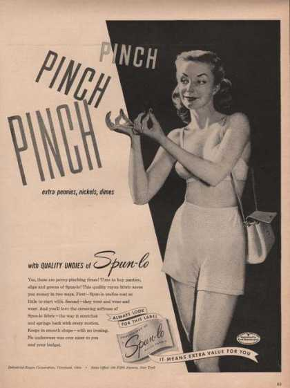Spun Lo Womens Undies (1949)