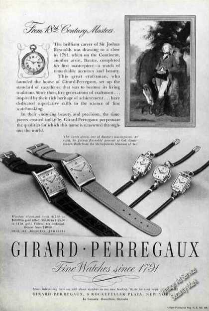 Girard Perregaux Watches (1947)