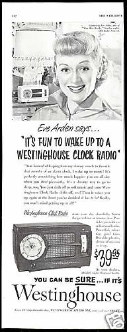 Eve Arden Photo Westinghouse Radio (1952)