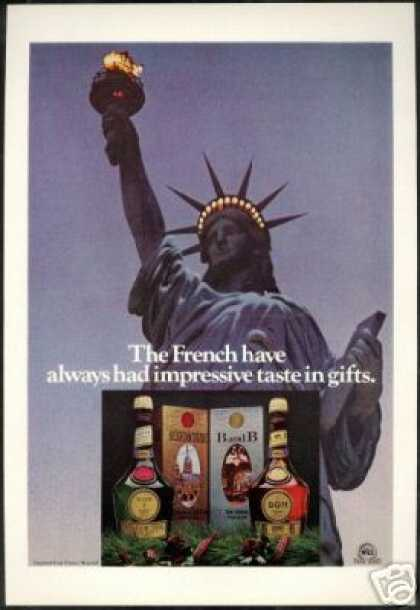 Statue of Liberty French Benedictine Liqueur (1978)