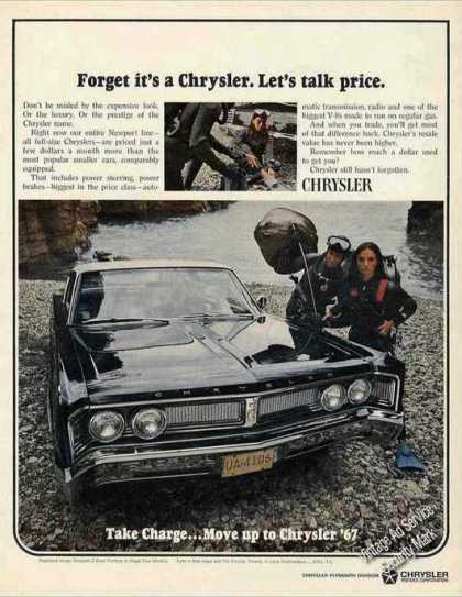 "Chrysler Newport ""Let's Talk Price"" Collectible (1967)"