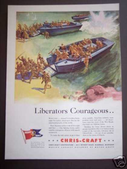 Chris-craft Boat for Liberty Boating (1942)