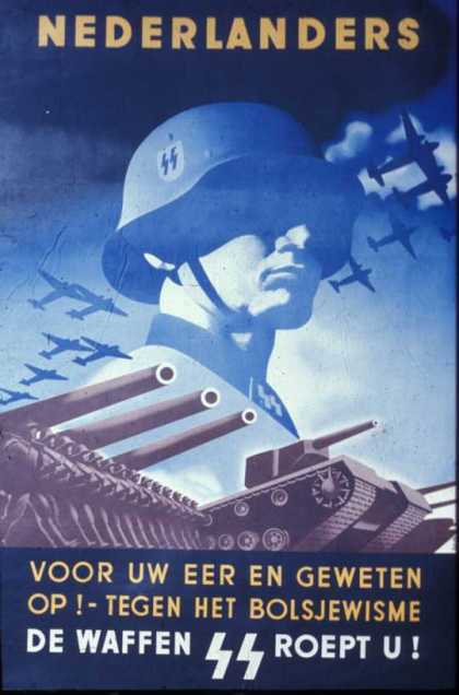 Dutch SS recruiting poster