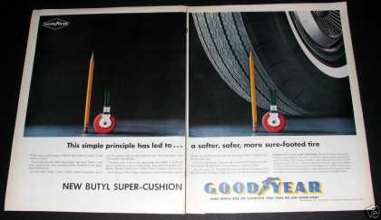 Goodyear Tires, Softer, Safer, Exc (1961)
