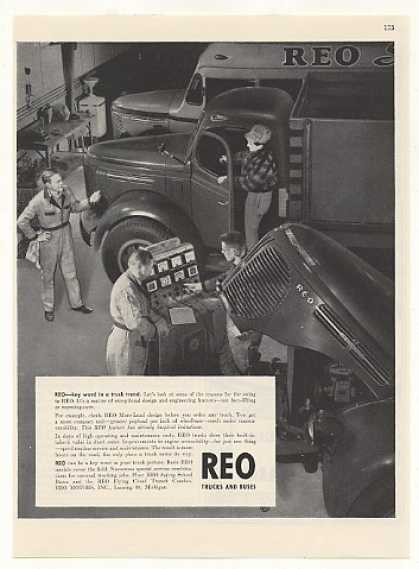 Reo Motors Trucks School Bus Truck (1948)