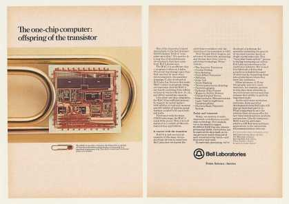 Bell Labs MAC-4 One-Chip Computer (1980)