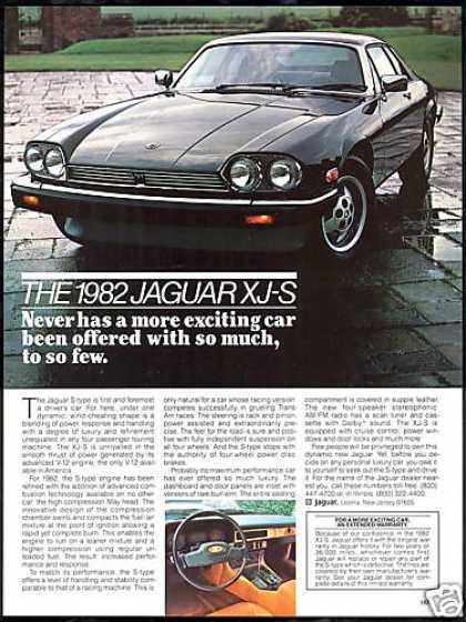 Jaguar XJ-S XJS S-Type Vintage Car (1982)
