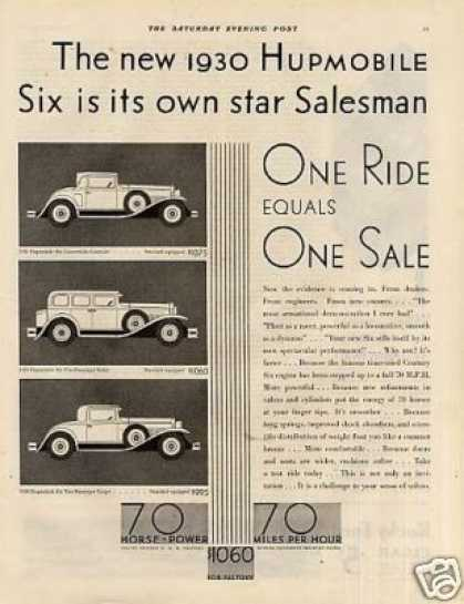 Hupmobile Six Cars (1930)