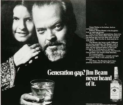 Jim Beam – Orson Welles