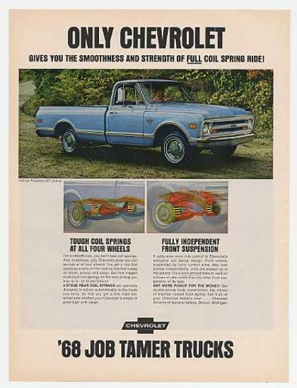 '67 1968 Chevy Half-ton Fleetside CST Pickup Truck (1967)