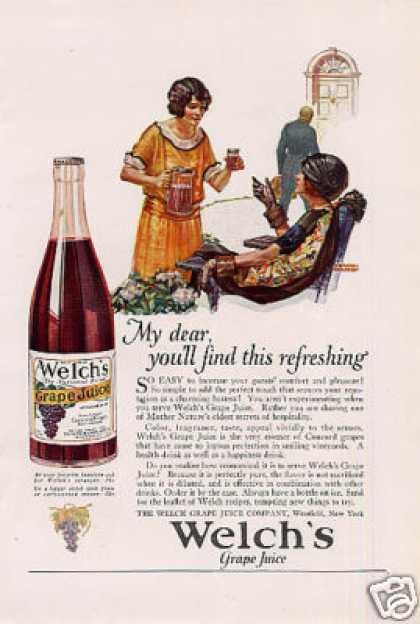 Welch's Grape Juice Color (1924)