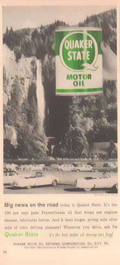 Quaker State – Multnomah Falls, Oregon (1958)