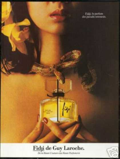 Snake Pretty Woman Fidji Guy Laroche Perfume (1982)