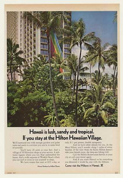 Hilton Hawaiian Village Hotel Waikiki Beach (1971)