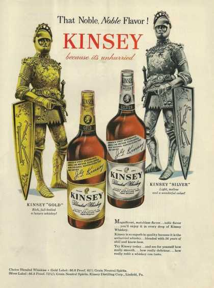Kinsey Blended Whiskey (1948)