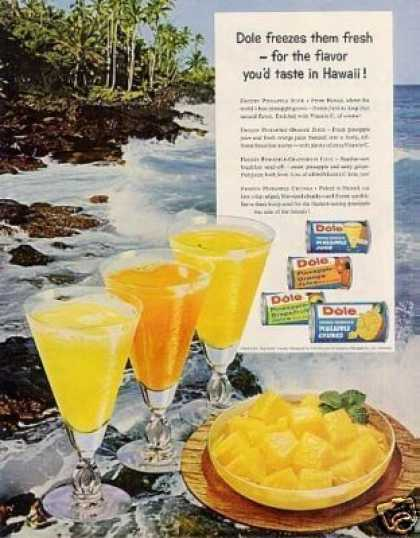 Dole Pineapple (1960)